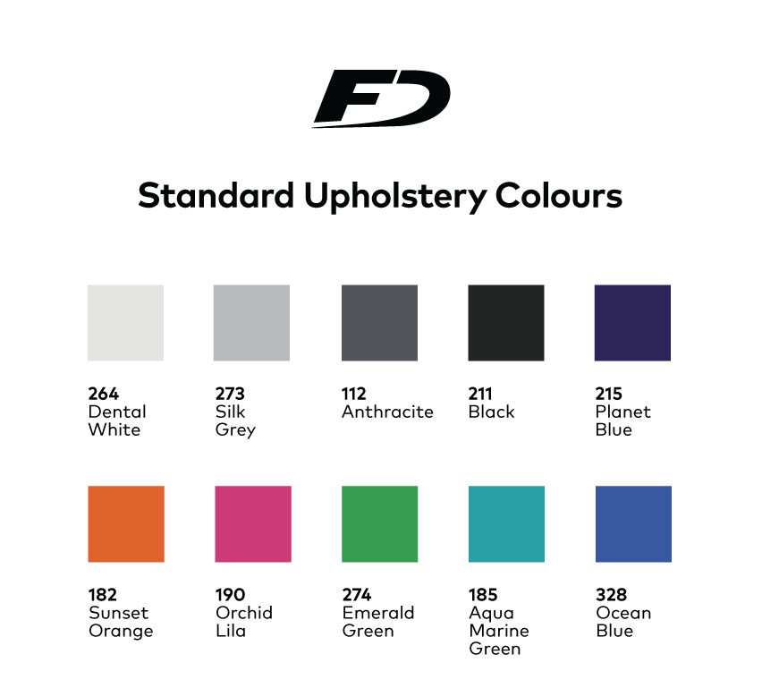 Standard Upholstery Colors