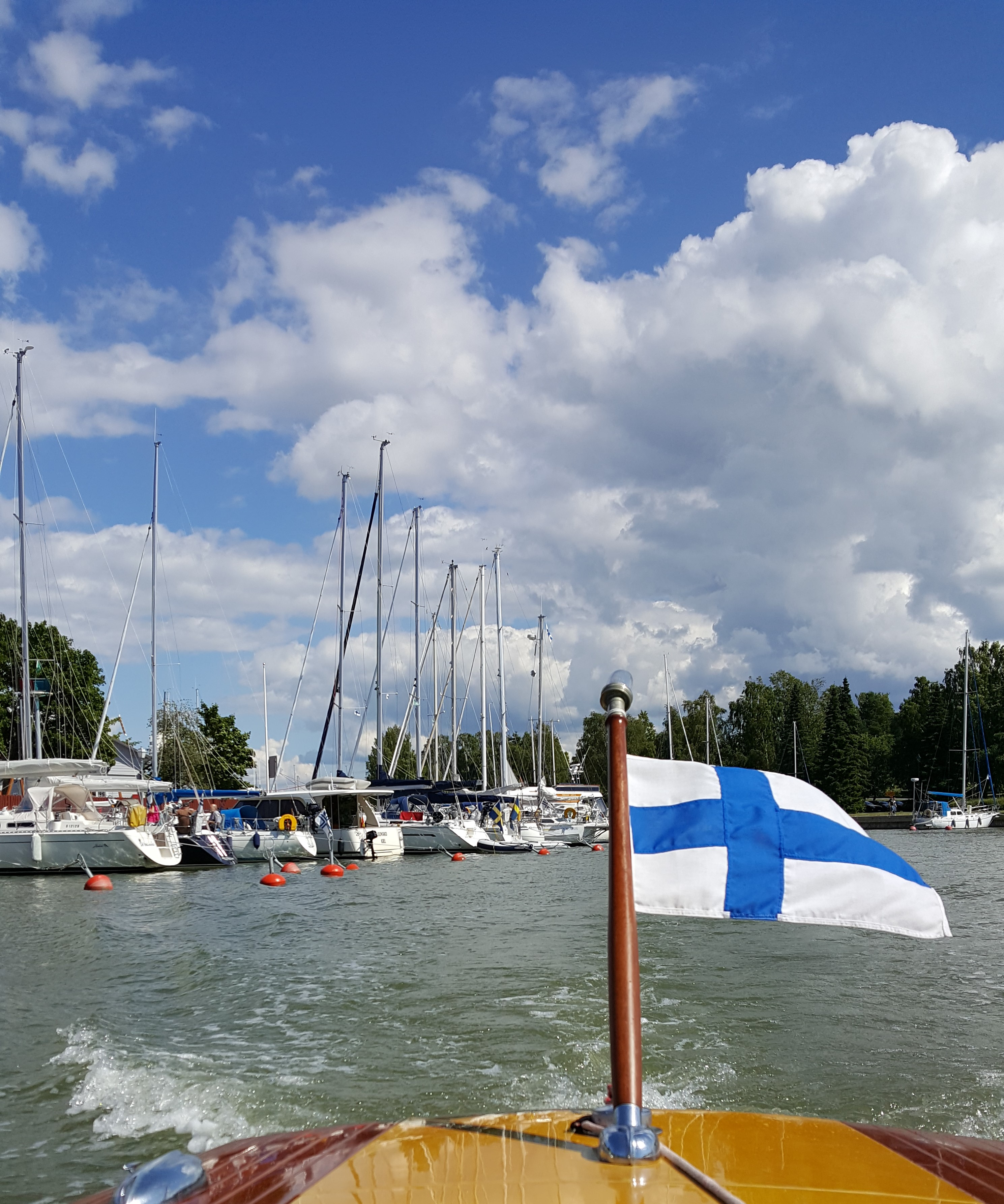 Honouring the 100 year old Finland!