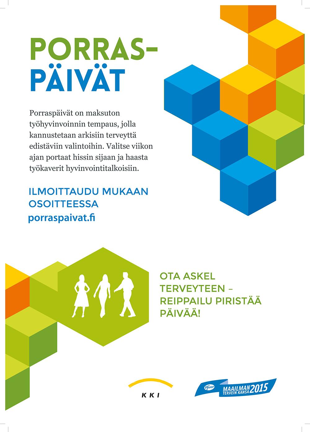 Stairdays – Porraspäivät for your own health!