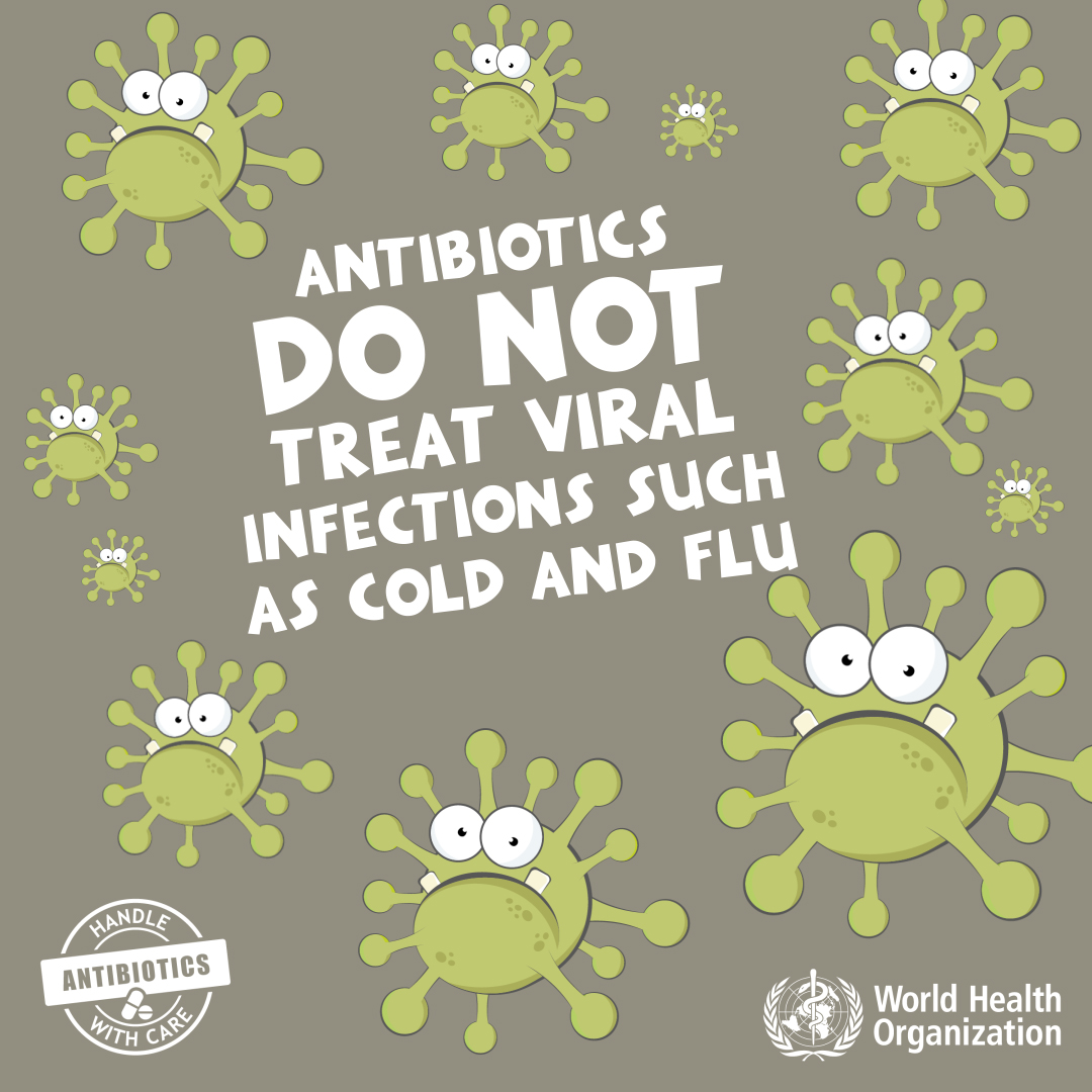 World Antibiotic Awareness week, 13-19 November 201